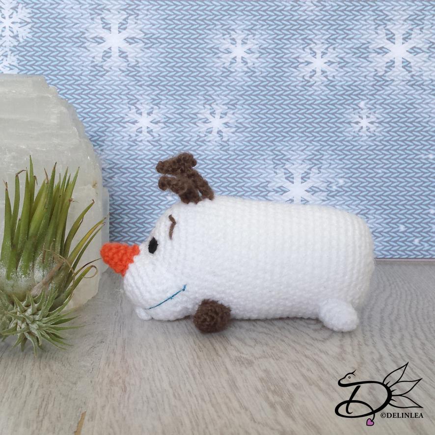 Olaf from Disney's Frozen Amigurumi Snowman by MilesofCrochet (com ... | 886x886