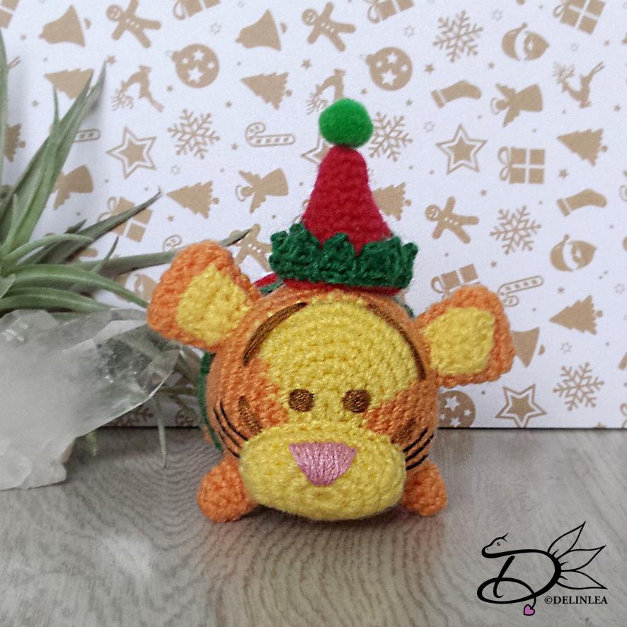 Tsum tsum Disney amigurumi pattern Pooh Piglet Eeyore | Etsy | 886x886