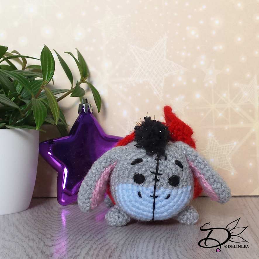Amigurumi Crochet AMIGURUMI HI HO GIGANTE THE ASINELLO OF WINNIE ... | 886x886