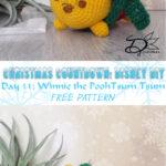 ♥ Day 11: Winnie the Pooh Tsum Tsum Amigurumi