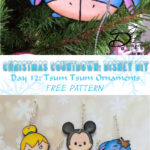 ♥ Day 12: Tsum Tsum Clay Ornament