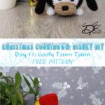 ♥ Day 13: Goofy Tsum Tsum Amigurumi