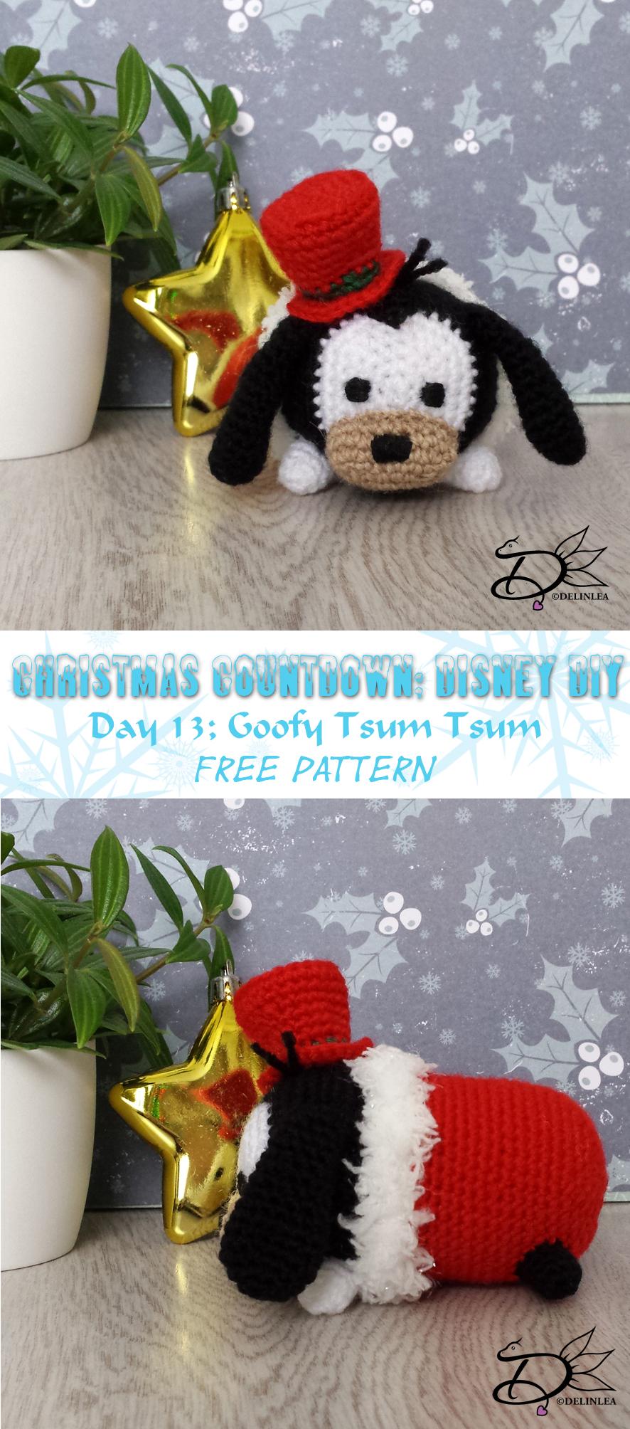 ♥ Day 13: Goofy Tsum Tsum Amigurumi - Delinlea - My little fantasy ...