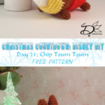 ♥ Day 21: Chip Tsum Tsum Amigurumi