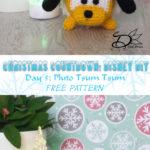 ♥ Day 5: Pluto Tsum Tsum Amigurumi