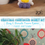 ♥ Day 7: Donald Duck Tsum Tsum Amigurumi