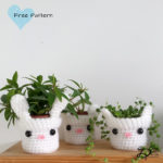 ♥ Crochet Plant pots Part 1