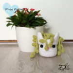 ♥ Crochet Plant Pots, Senecio rowleyanus part 3