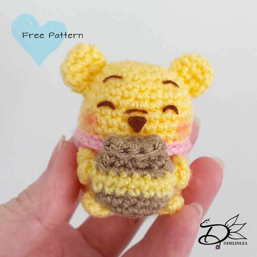 crochet pattern, winnie the pooh! | Bambole di uncinetto ... | 886x886