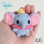 ♥ Dumbo Ufufy Amigurumi