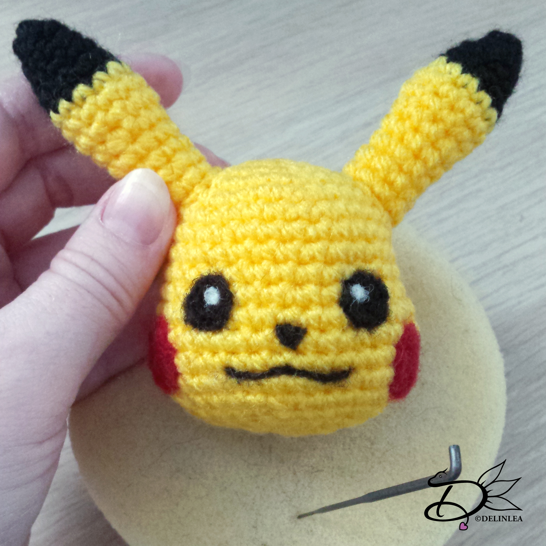 Shiny Umbreon Amigurumi - Made by Sailor Mini Muffin! | Pokemon ... | 1772x1772