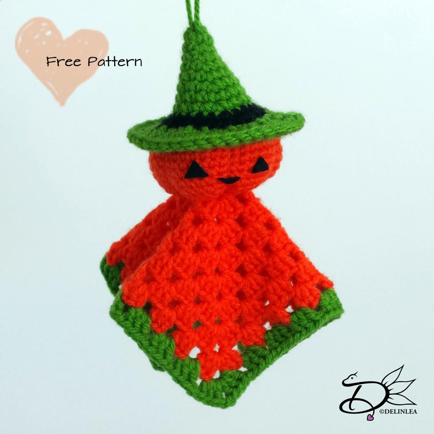 Amigurumi Pumpkin Ghost Delinlea My Little Fantasy World
