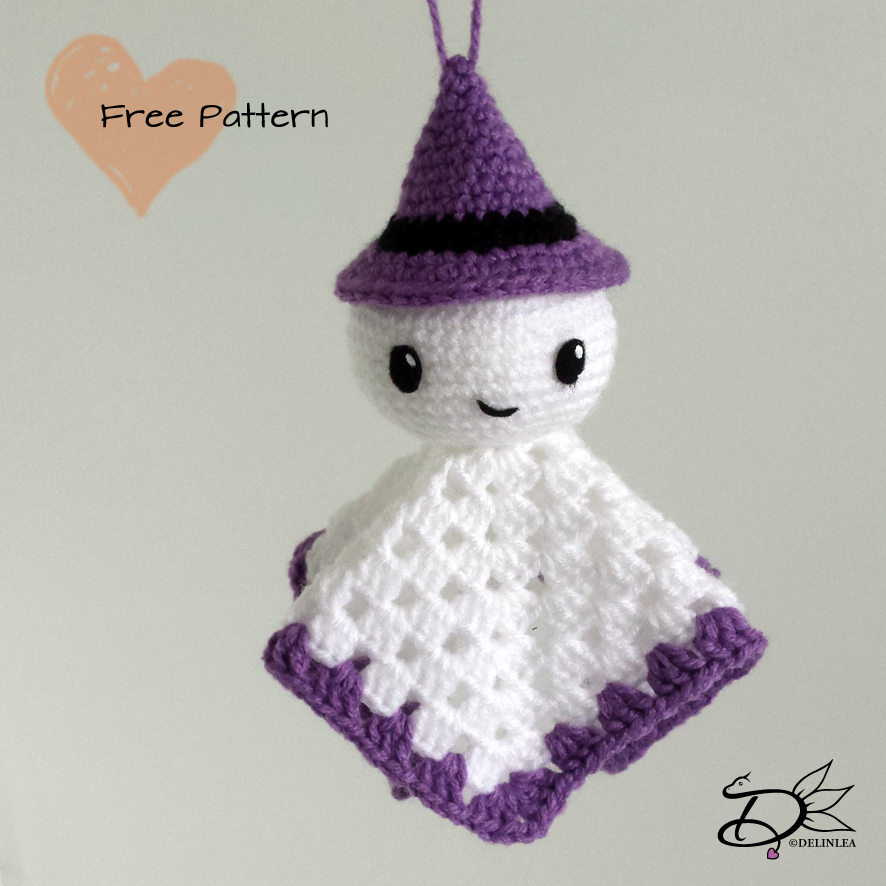 Ghost Amigurumi Crochet Ornament (Pattern Only) - Ollie + Holly ... | 886x886