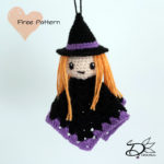 ♥ Amigurumi Witch Ghost