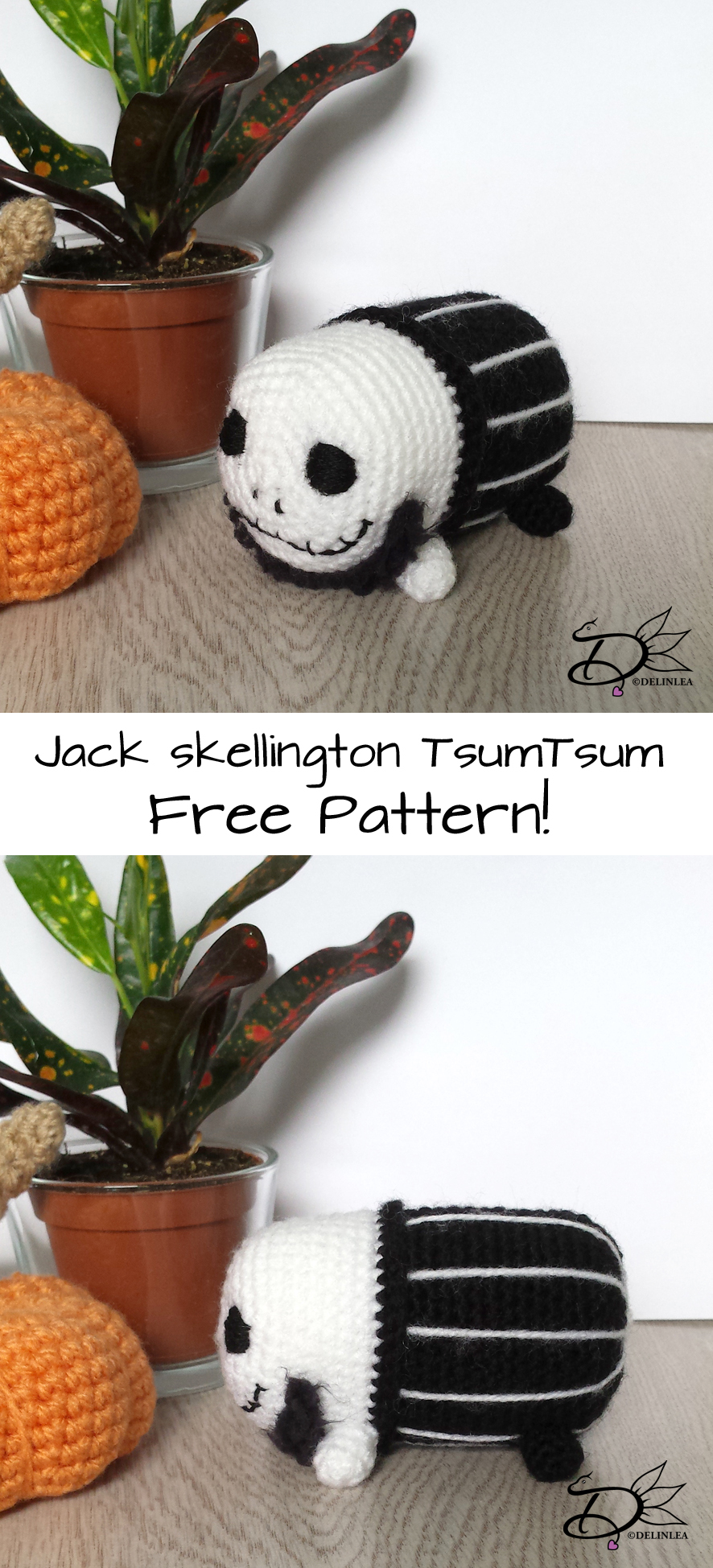 Jack Skellington Archives • Spin a Yarn Crochet | 1949x886