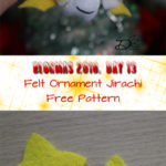 ♥ Day 13; Jirachi Felt Ornament
