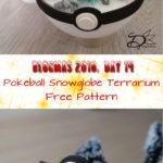 ♥ Day 14; Pokeball Snowglobe Terrarium