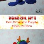 ♥ Day 15; Popplio Felt Ornament