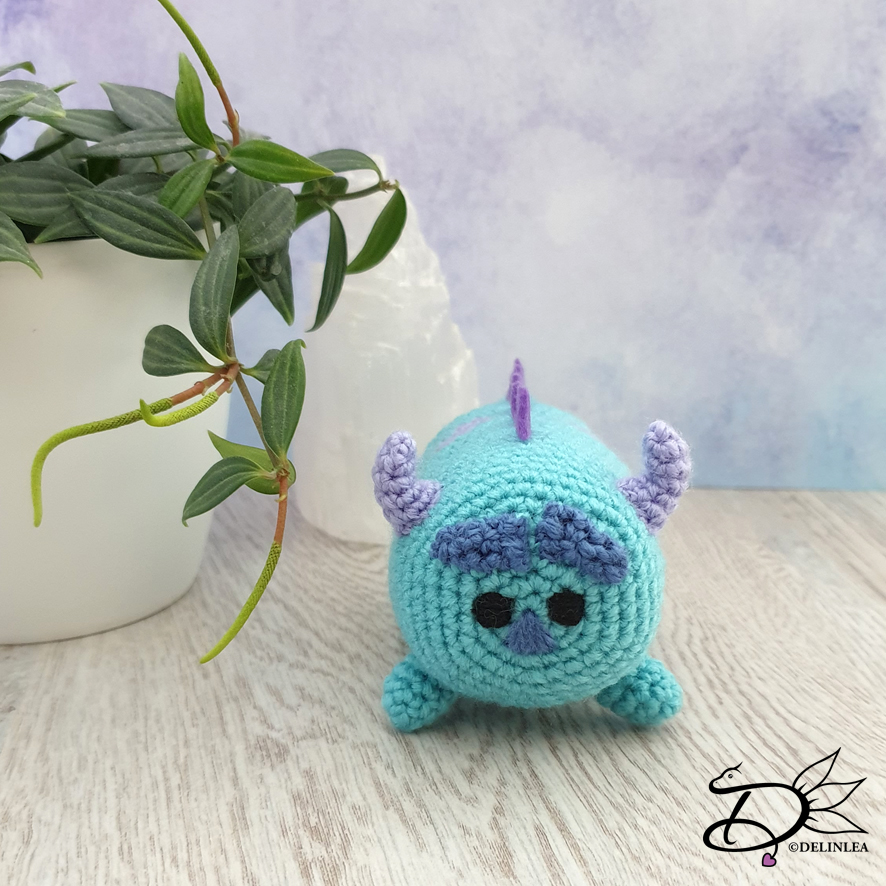 Monsters Inc, Mike Wazowski amigurumi crochet. | Crochet disney ... | 886x886