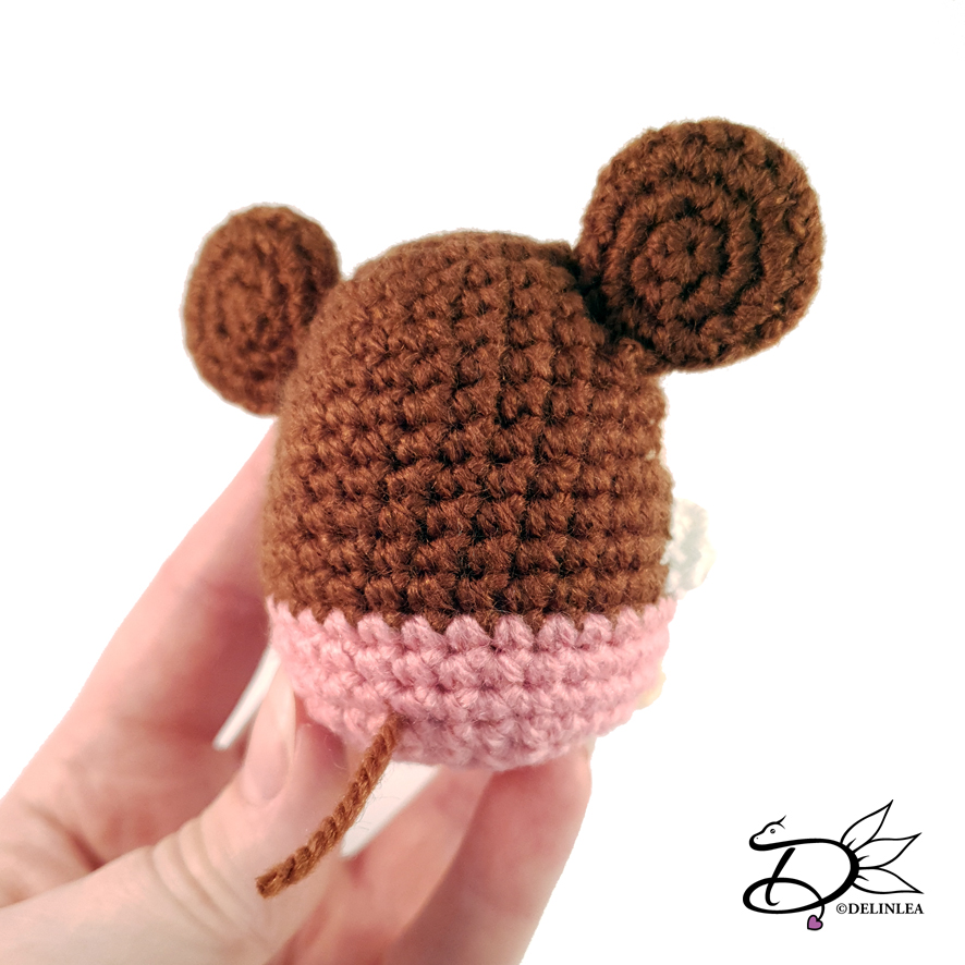 Mickey Mouse Amigurumi Crochet PDF Pattern in English (mit Bildern ... | 886x886