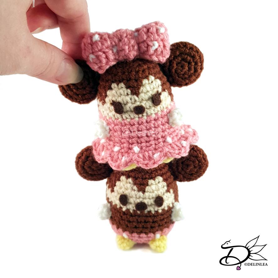 Minnie   Mickey mouse de crochê, Brinquedos de crochê para bebê ...   886x886