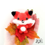 ♥ Free Pattern; Little Foxy Amigurumi