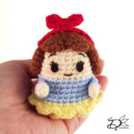 ♥ Free Pattern; Snow White Ufufy