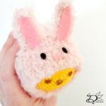 ♥ Amigurumi Easter Bunny TsumTsum Suit