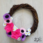 ♥ Spring Wreath from Scratch