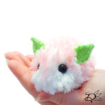 ♥ Strawberry Sea Bunny Amigurumi