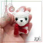 ♥ Day23; Polar Bear Amigurumi