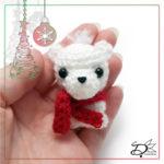 ♥ Day23; Polar Bear Amigurumi
