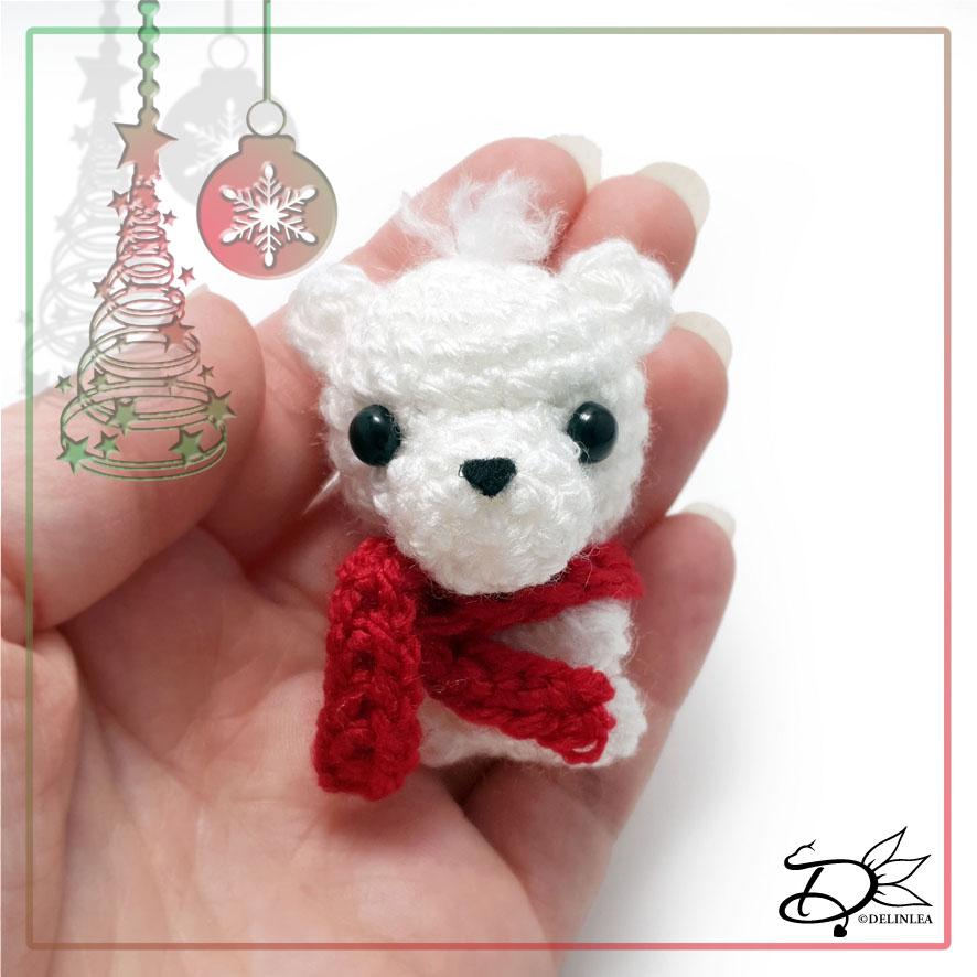 Polar Bear made with Amigurumi