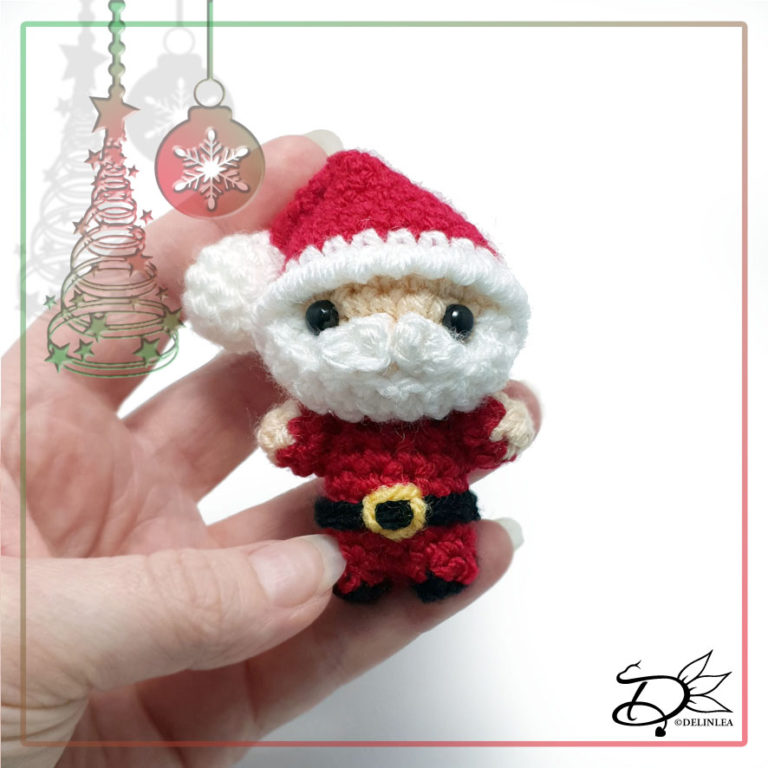 Santa Claus made with Amigurumi