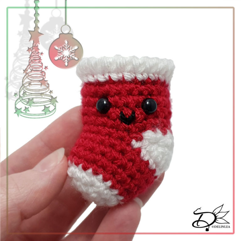 Stocking made with Amigurumi