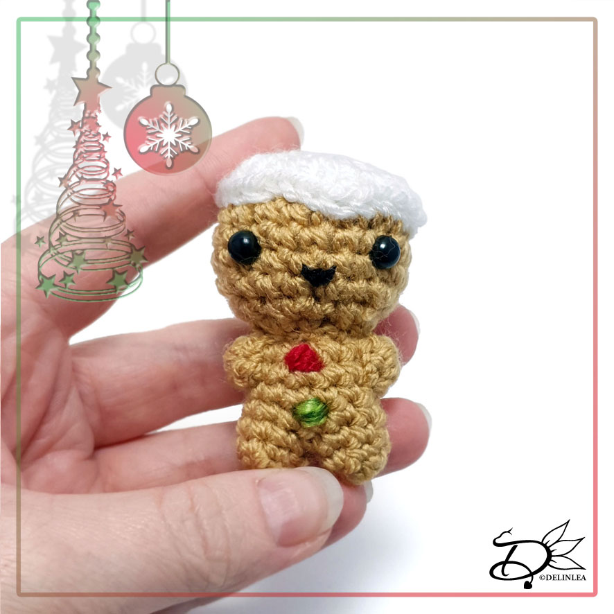 Gingerbread made withAmigurumi