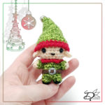 ♥ Day1; Christmas Elf Amigurumi