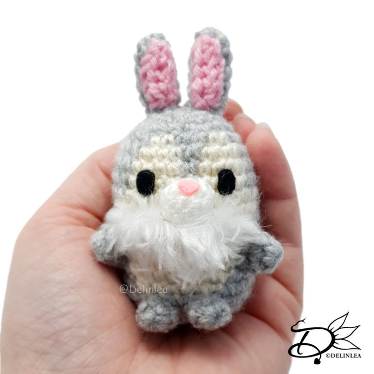 Thumper Ufufy with the Amigurumi Technique