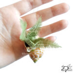 ♥ Paper Plant in Shell DIY