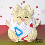 3D Origami Pokemon