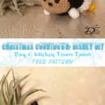 ♥ Day 1: Mickey Tsum Tsum Amigurumi