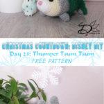 ♥ Day 23: Thumper Tsum Tsum Amigurumi