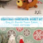 ♥ Day 25: Bambi Tsum Tsum Amigurumi