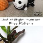 ♥ Amigurumi: Jack Skellington TsumTsum
