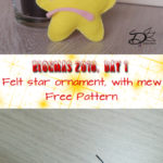 ♥ Day 1; Mew Felt Ornament