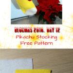 ♥ Day 12; Pikachu Stocking