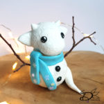 ♥ Tutorial; Clay Snow Dragon