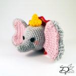 ♥ Free Pattern; Dumbo TsumTsum