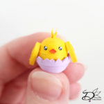 ♥ Quilled Easter Baby Chick