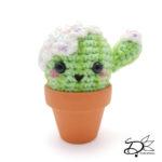 ♥ Ice Cream Cactus Amigurumi